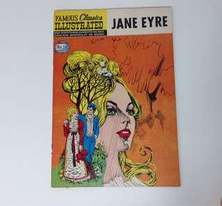 1973 Famous Classics Illustrated Komiks JANE EYRE (Philippine Edition)