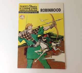 1973 Famous Classics Illustrated Komiks ROBINHOOD (Philippine Edition)