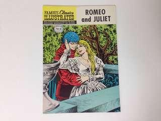 1971 Famous Classics Illustrated ROMEO AND JULIET Komiks (Philippine Edition)