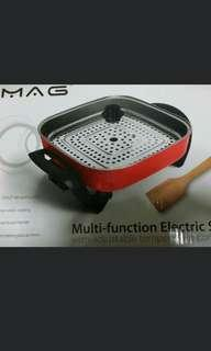 MAG Multi Function Electric Skillet