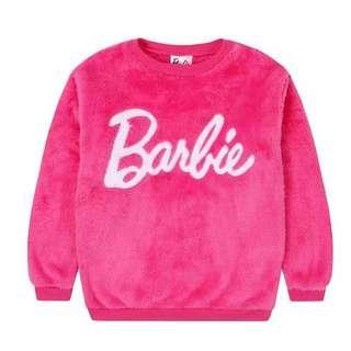 Barbie 芭比中童毛毛衛衣 140碼