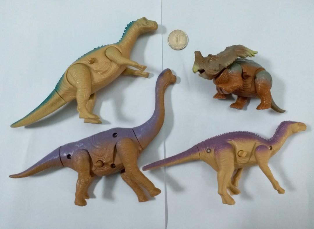 上鍊恐龍4隻