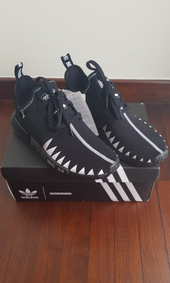 new product cf6d4 106d0 US 8.5 Adidas X Neighborhood NMD R1