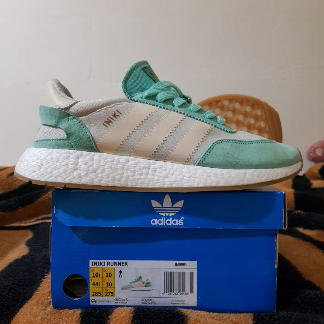 c6ea50ca5a Adidas INIKI Runner Mint / Turquoise / Green US 10.5
