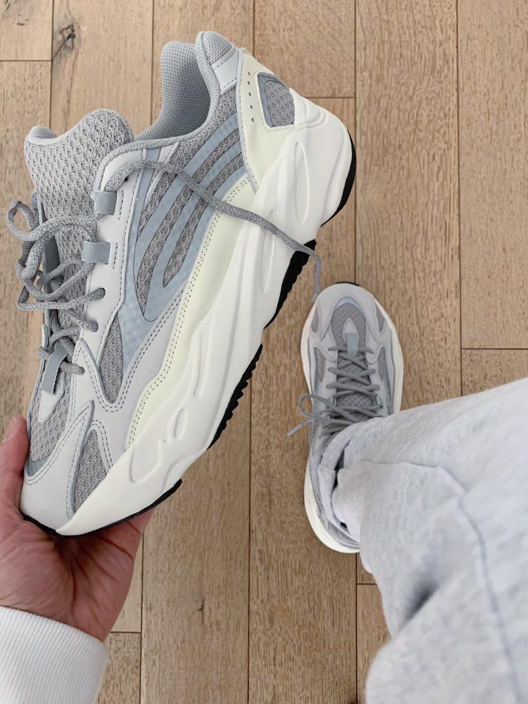 "buy online f8767 c9abc Adidas Yeezy Boost 700 ""Static"", Men's Fashion, Footwear ..."