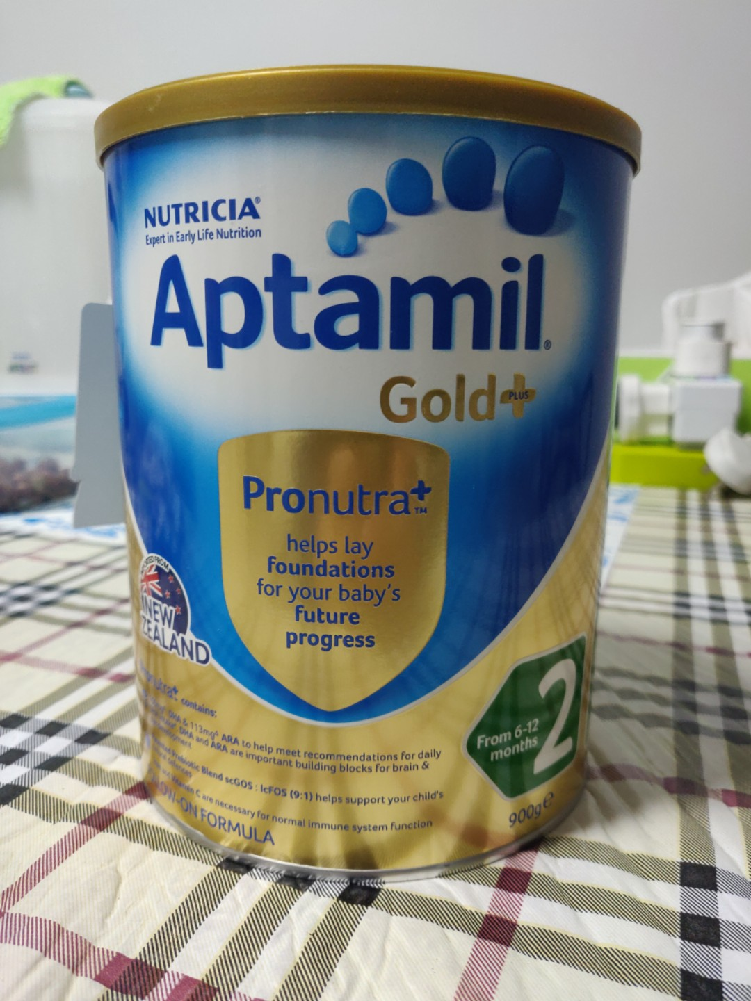 Aptamil Gold+ Stage 2 formula 900g