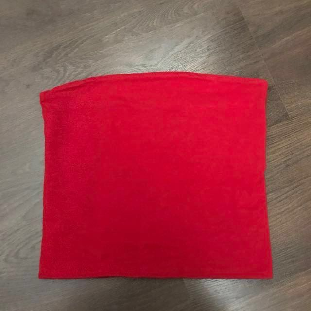 c9db6db5ff1 Authentic Brandy Melville Jenny red tube top