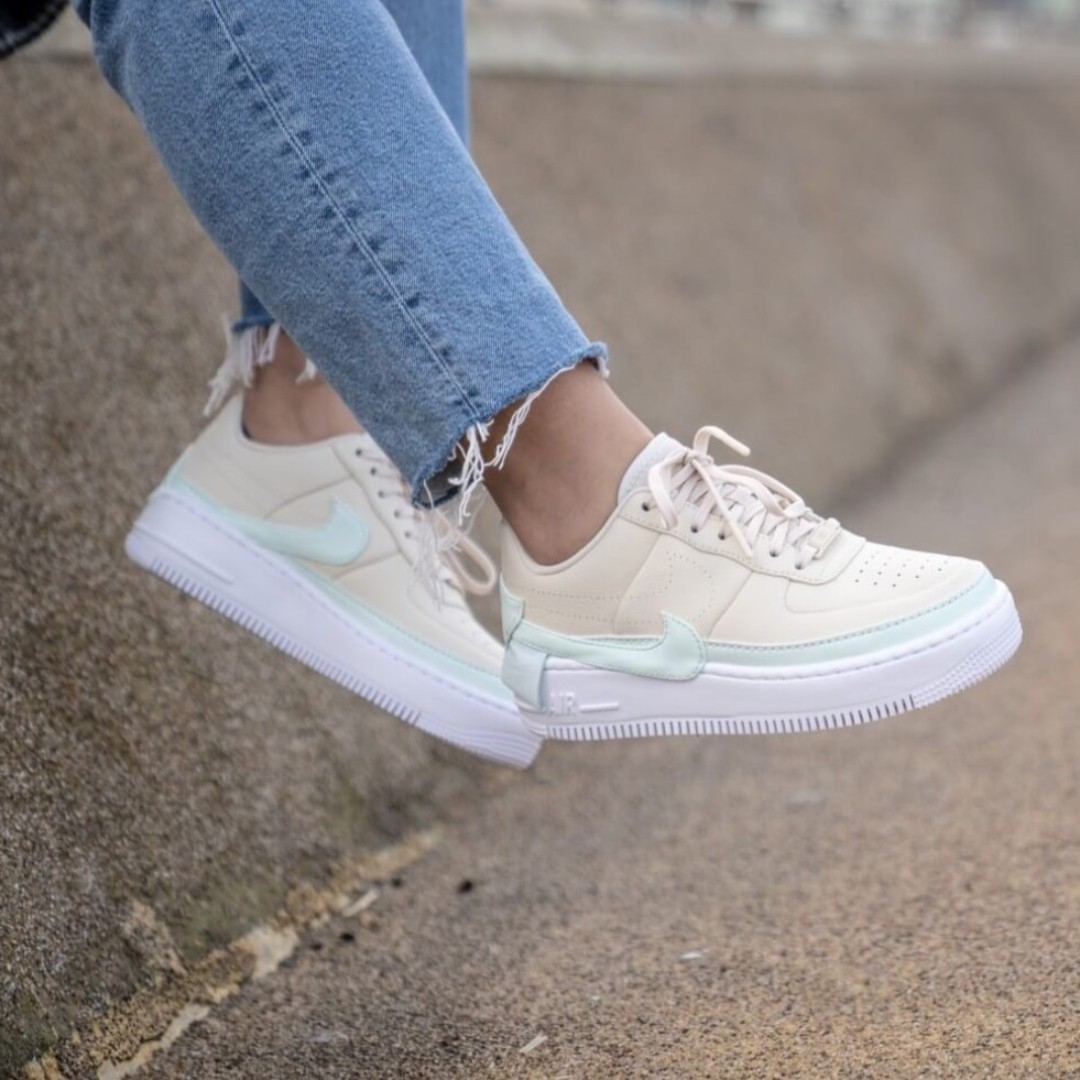 Authentic Nike Air Force 1 Jester Light Cream