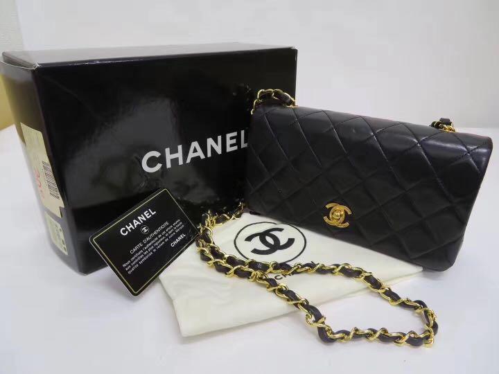 7c646bdf8864 Authentic vintage Chanel sling bag