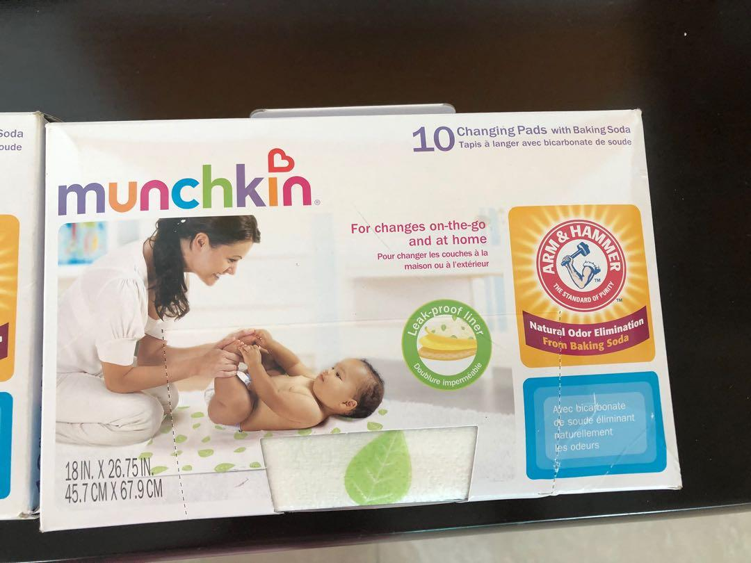 Baby changing pads/ liners (2 boxes)