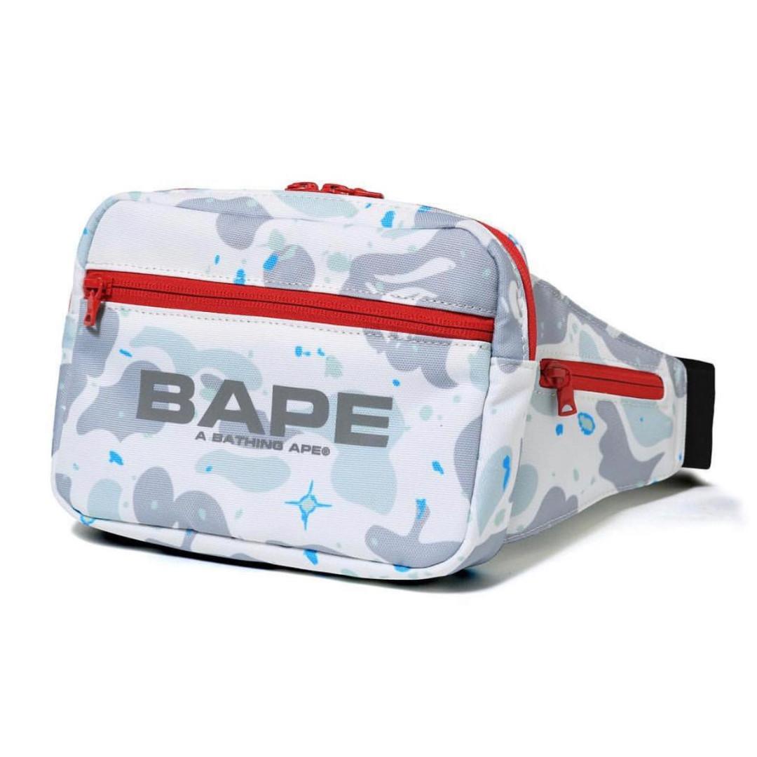 d35846cdadf9 Bape Space Camo Waist Bag