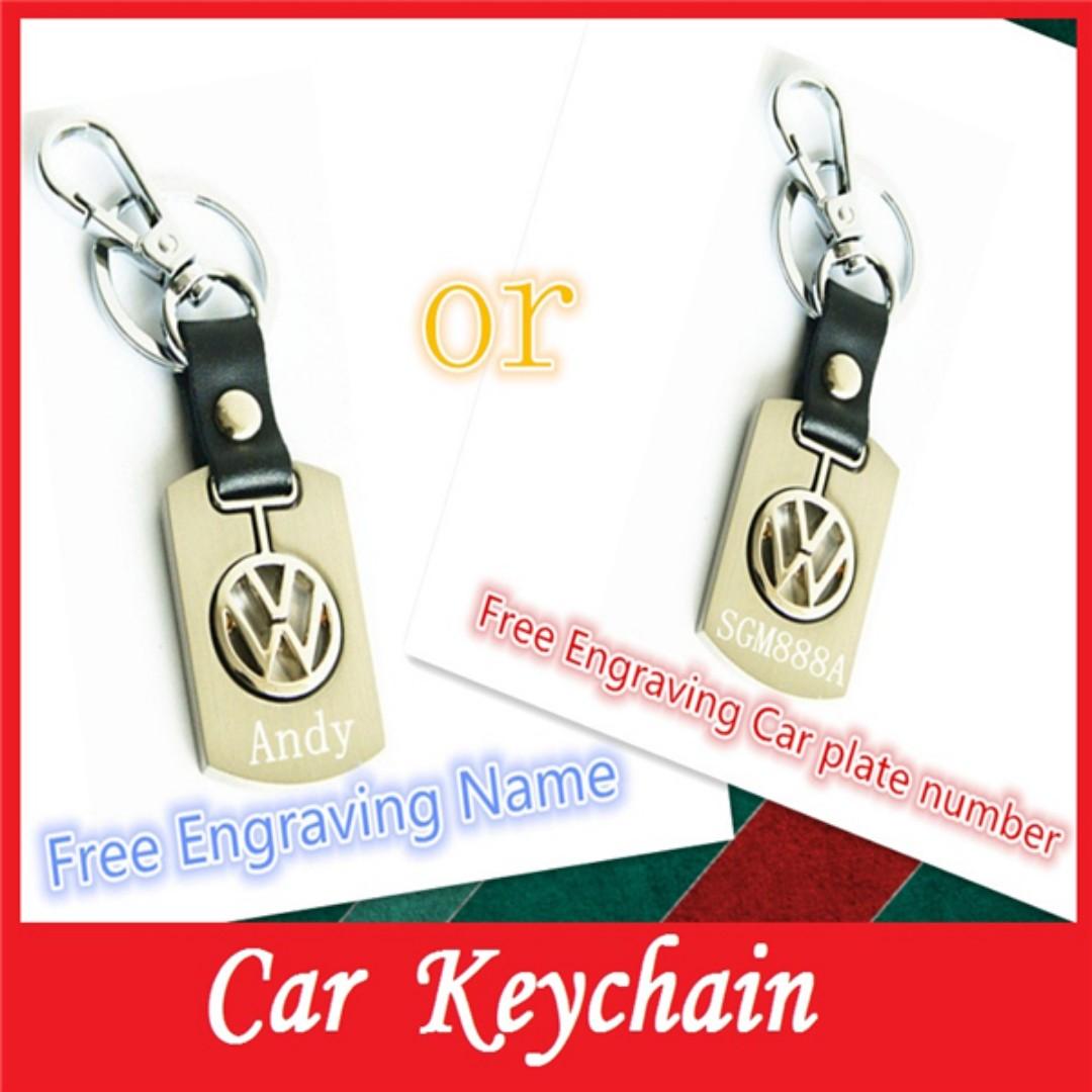 c509c2d5abd Best Gift ☆Toyota Honda Volkswagan Mitsubishi lexus Subaru Kia Ford  Landrover volvo Nissan Car logo genuine leather Metal Keychain Accessory  for car key + ...