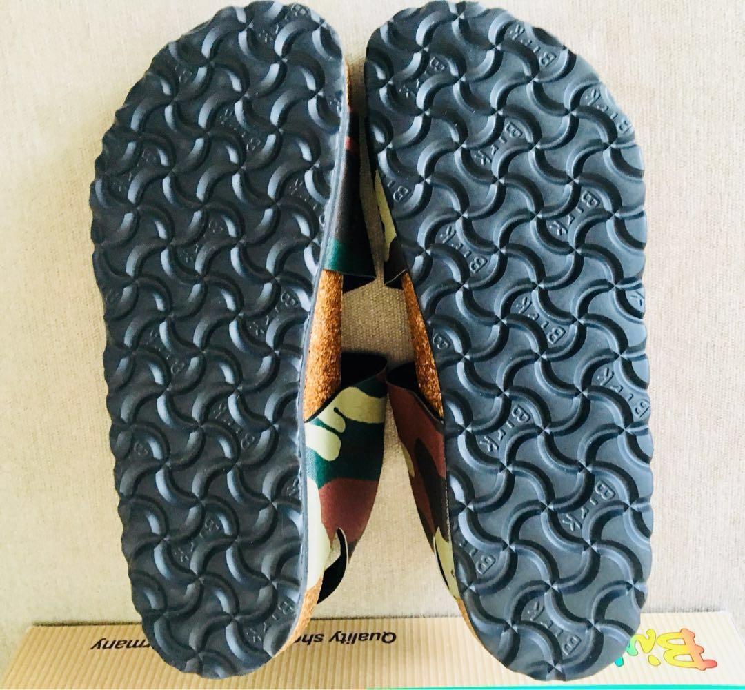 fe17716f222b Birkenstock Birki s Kids Birko Flor Ellice camouflage leather sandals shoes  34