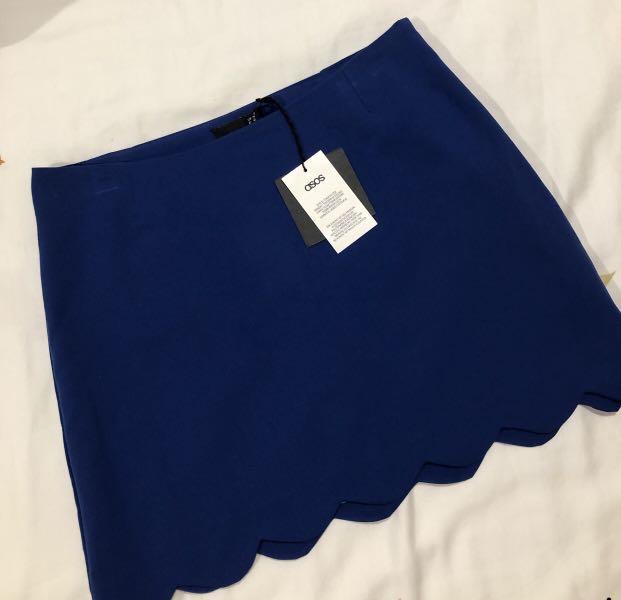 Brand New Asos scallop skirt