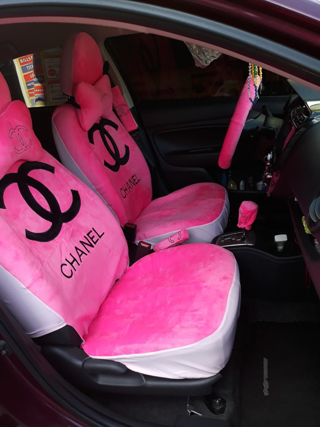 Enjoyable Chanel Car Seat Covers Products Pdpeps Interior Chair Design Pdpepsorg