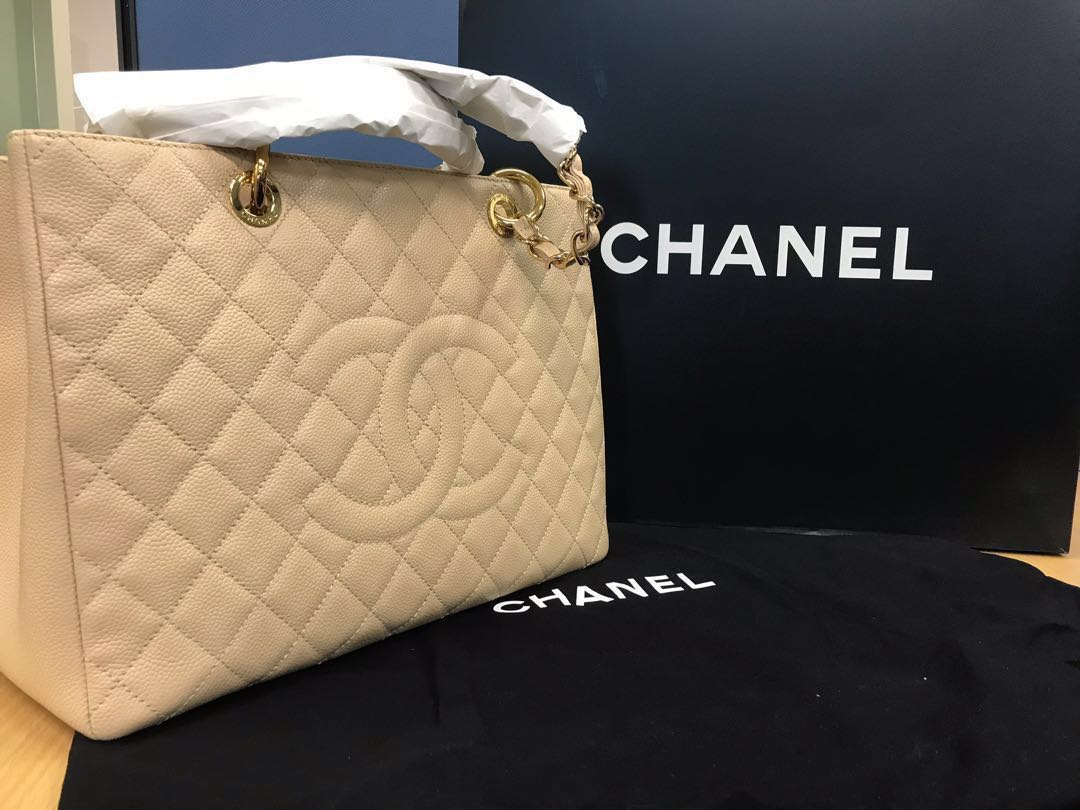 eee83990f1e6d9 Chanel Grand Shopping Tote, Luxury, Bags & Wallets, Handbags on ...
