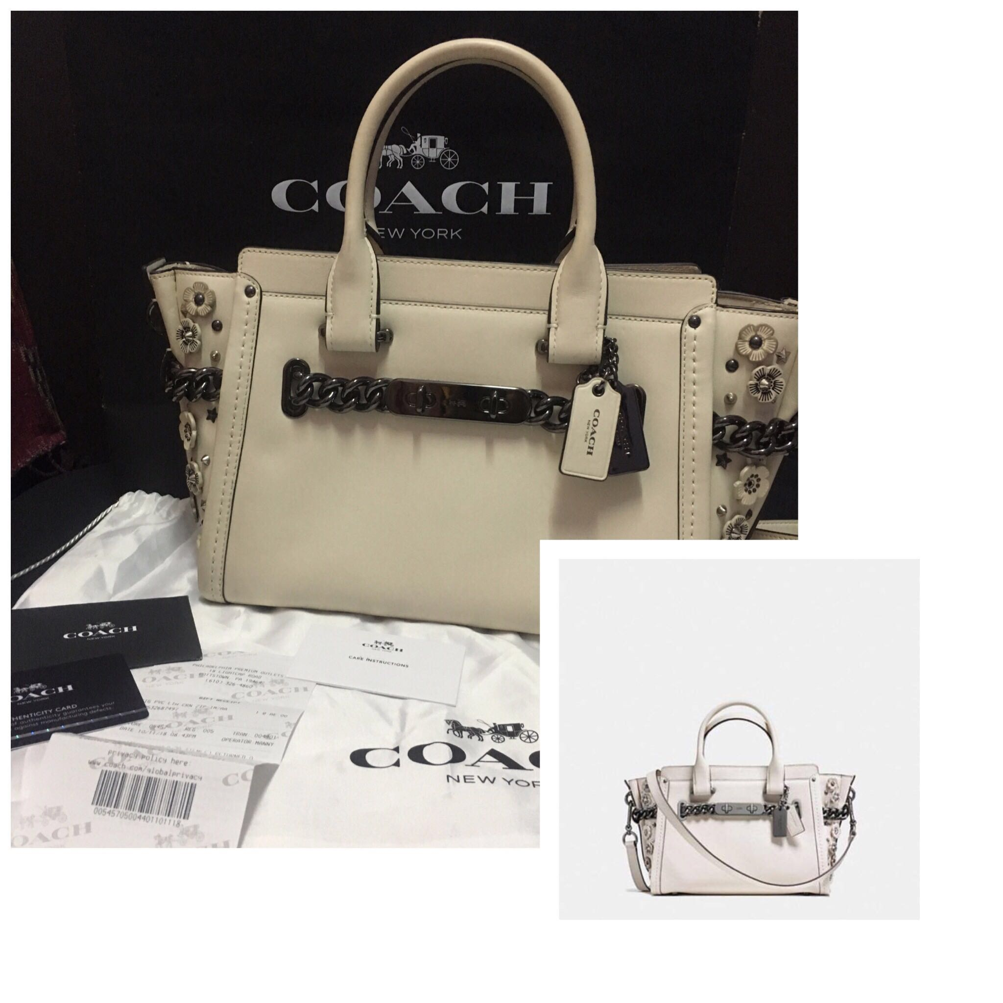 COACH SWAGGER 27 WILLOW FLORAL  9126172ece