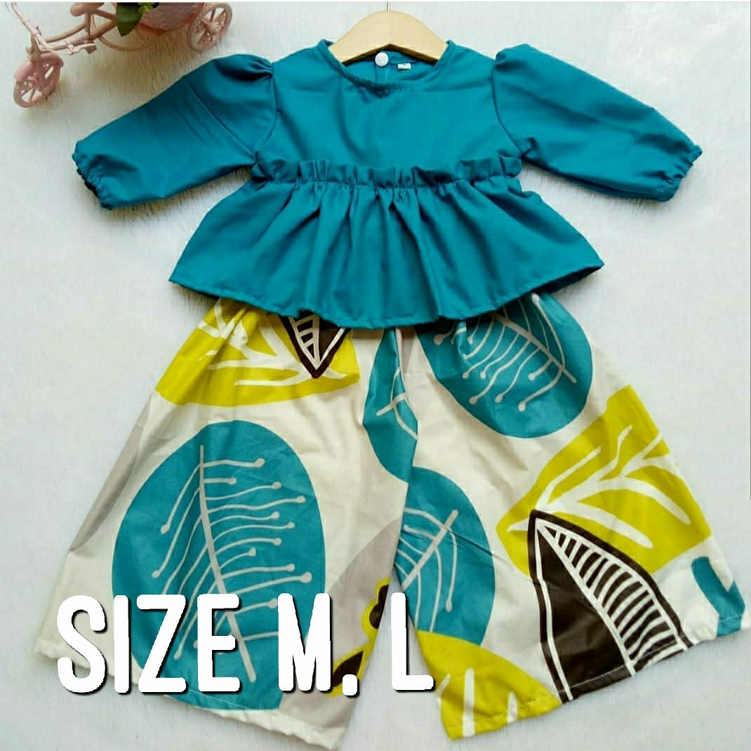 7a183d855 Culottes and Top Set for Girls