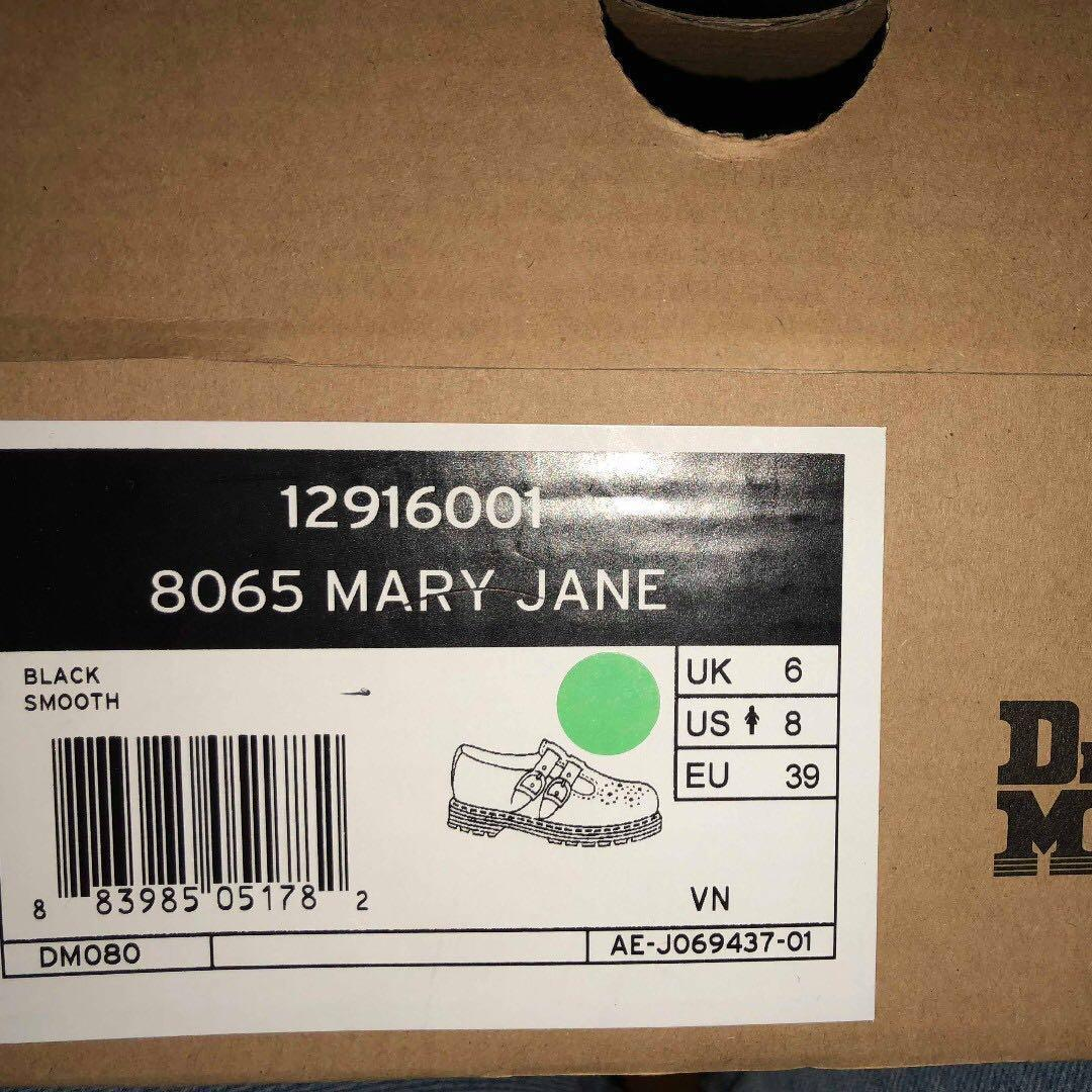 Dr Marten 8065 Mary Jane Size UK6 US8 EU39 BRAND NEW RRP $219.95