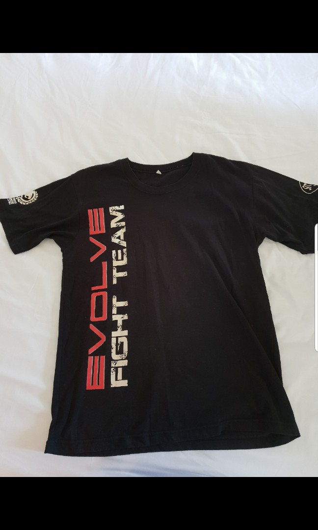 05b3c8ba4 Evolve MMA Fight Team Tee, Men's Fashion, Clothes, Tops on Carousell