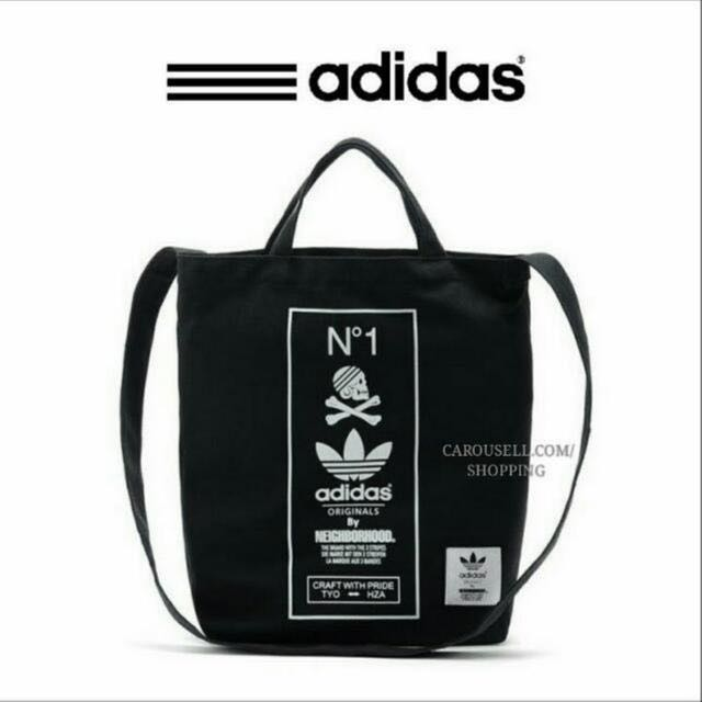 e93bae0093d6 FLASH SALE) Authentic 3 Way Adidas x Neighborhood Canvas Tote Bag ...