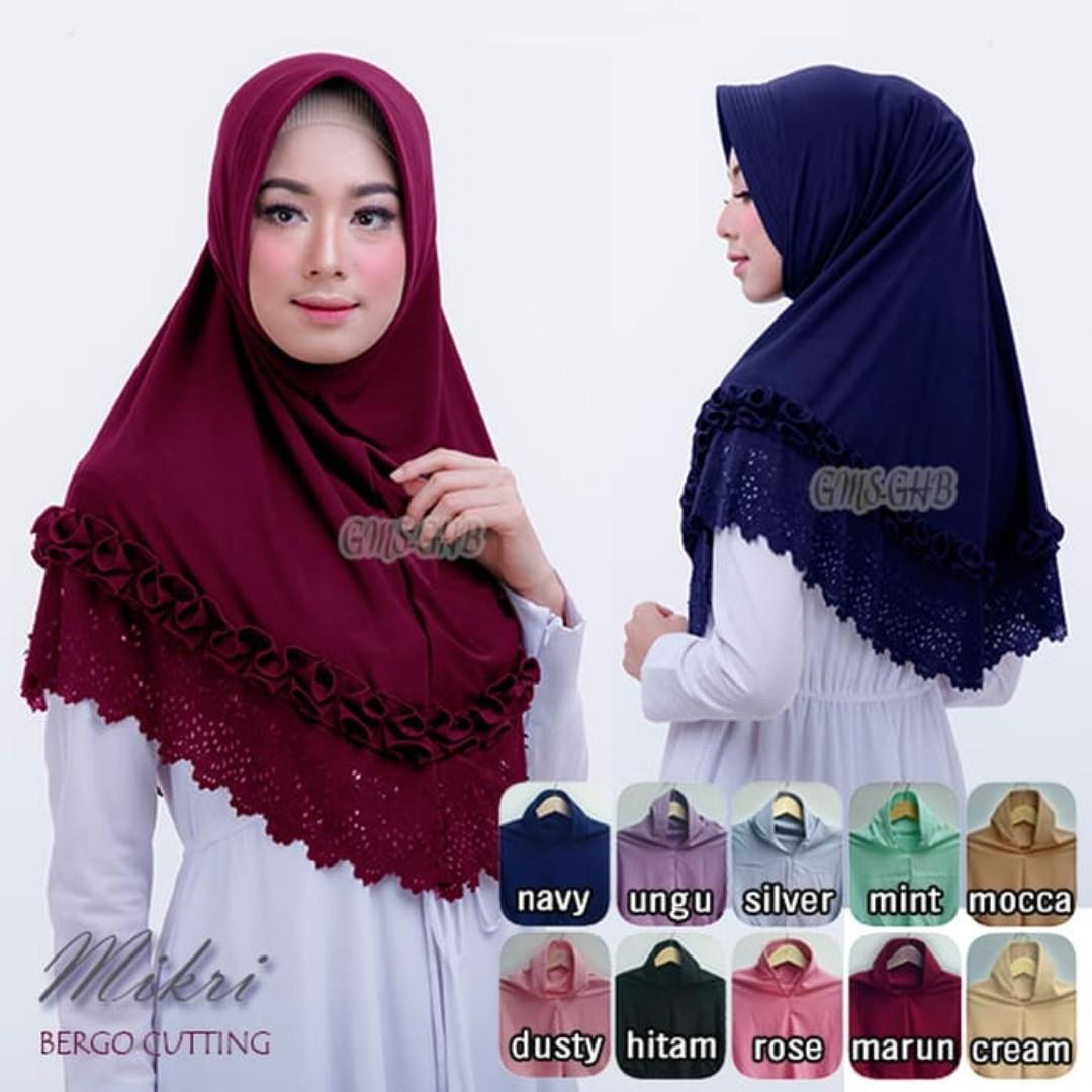 Hijab Bergo Fesyen Wanita Muslim Fashion Syal Di Carousell