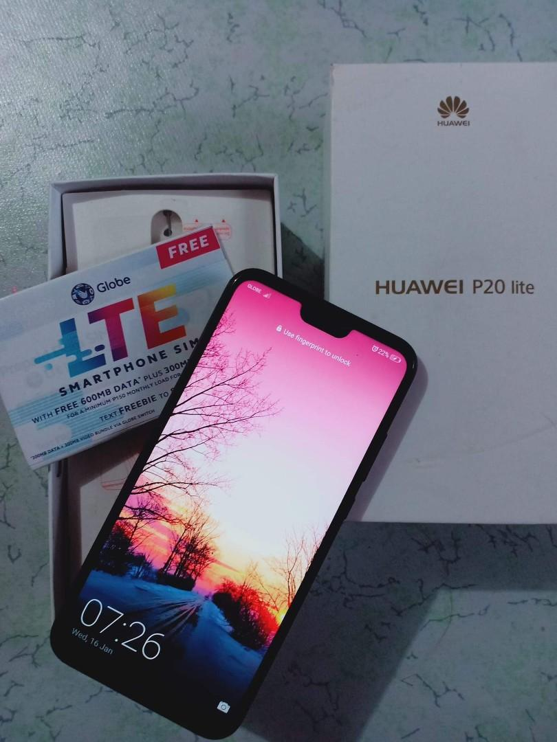 Huawei P20 Lite 99% Good as new with warranty on Carousell