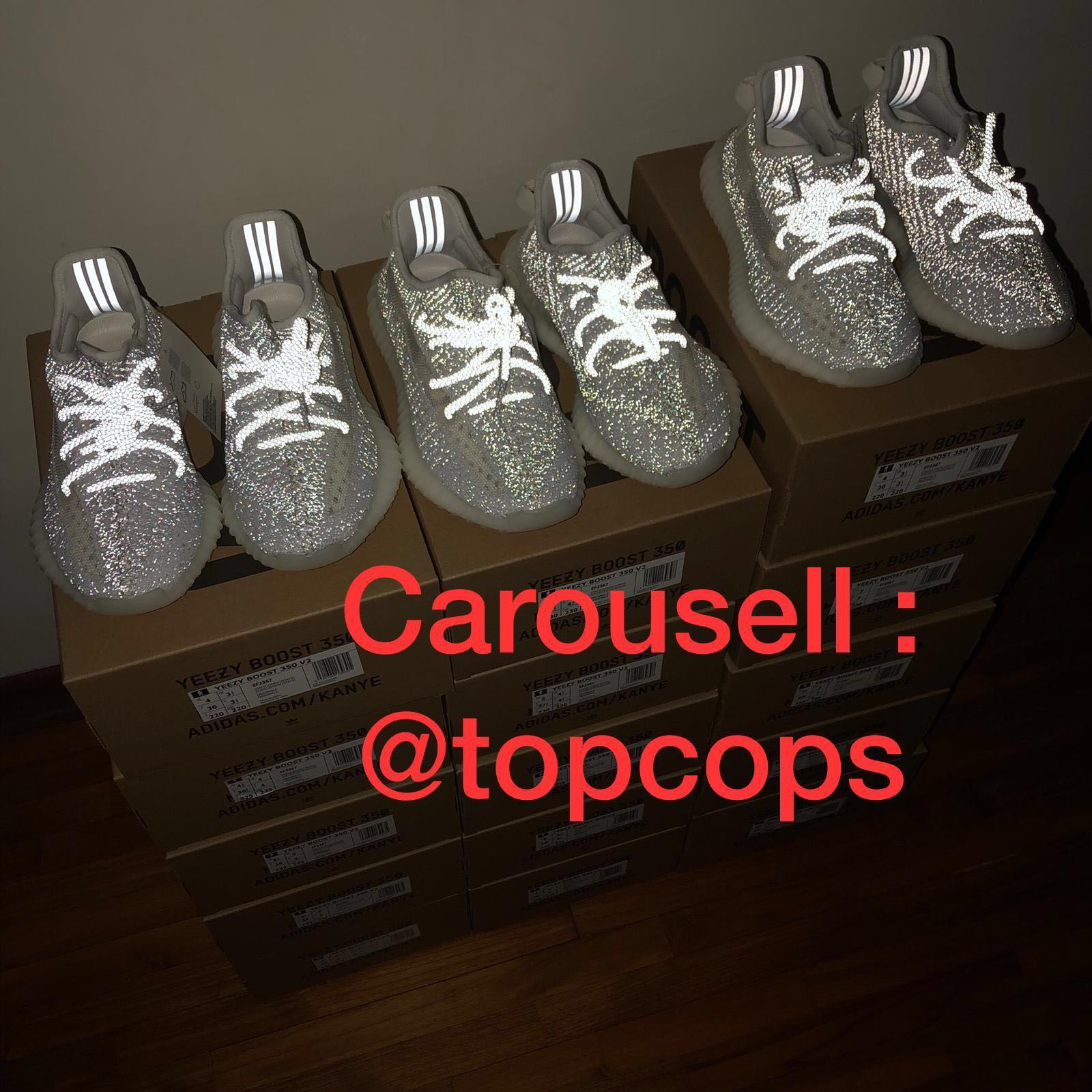 61722f38774e6 INSTOCK  Yeezy Boost 350 V2 Static Reflective 3M