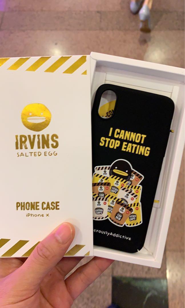 iPhone X XS IRVINS Case 全新