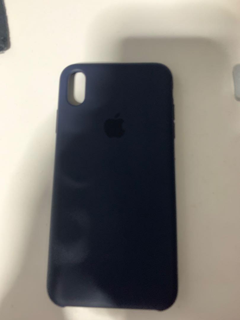 separation shoes 97245 0347c iPhone XS Max Apple Original Silicon Case (Blue Horizon)