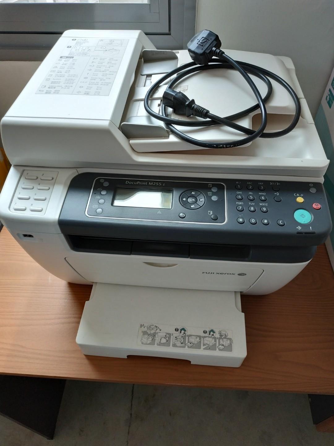 Laser Multifunction Printer Scanner Copier Fuji Xerox