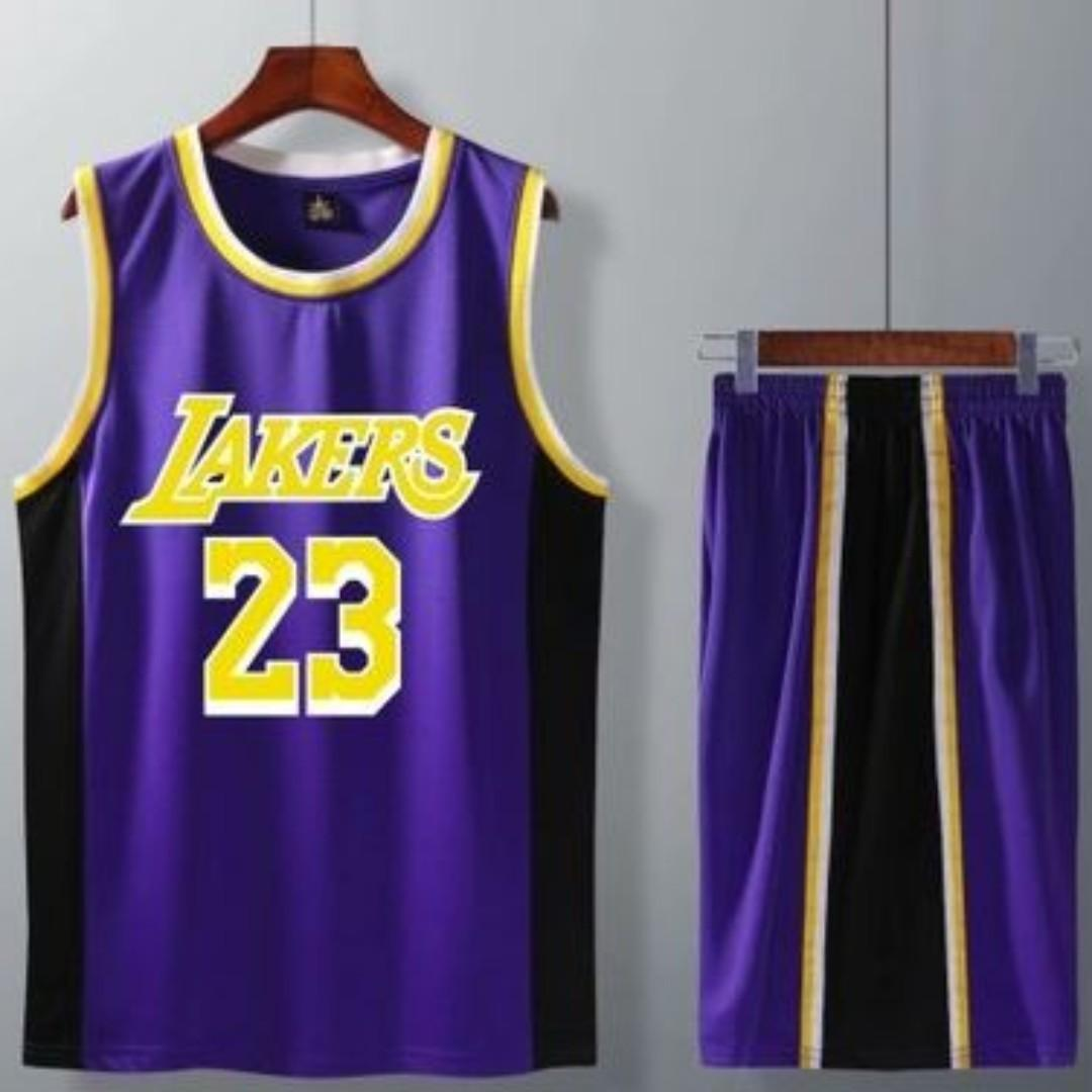 new style 30085 abff8 LEBRON NBA LAKERS JERSEY, Sports, Sports Apparel on Carousell