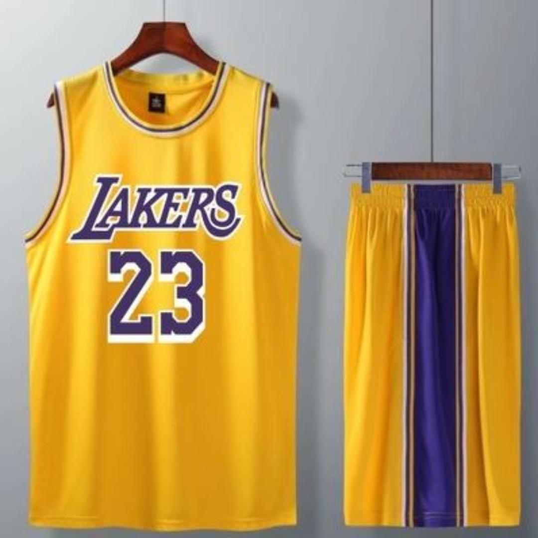 new style b2d59 244bc LEBRON NBA LAKERS JERSEY, Sports, Sports Apparel on Carousell