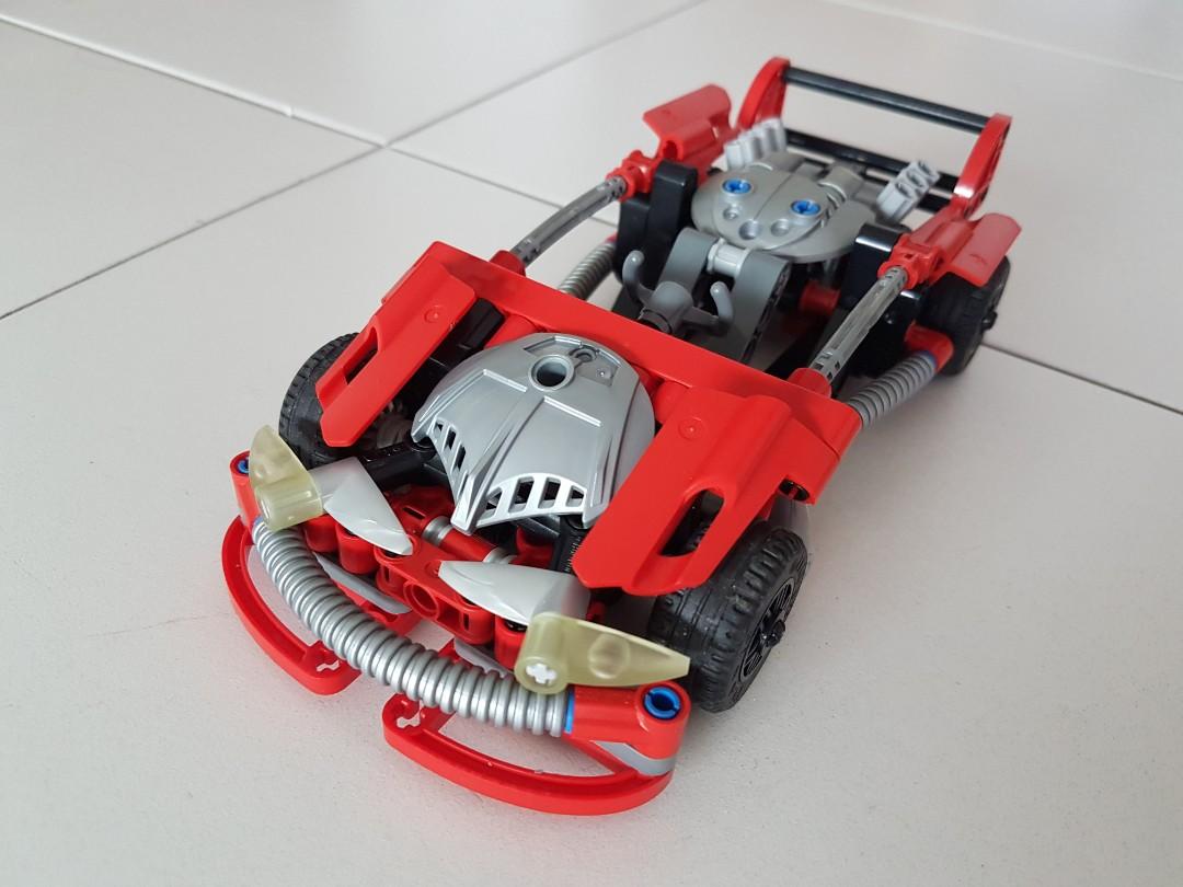 Lego Technics Racer Car Toys Games Bricks Figurines On Carousell