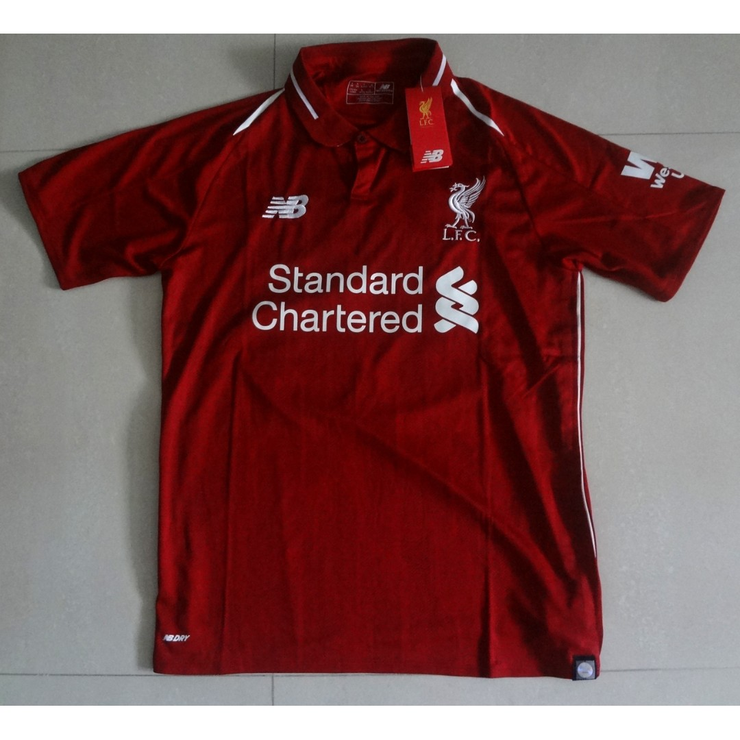 4782a364547 Liverpool BNWT Home Jersey 18 19 Robertson 26 READY STOCK