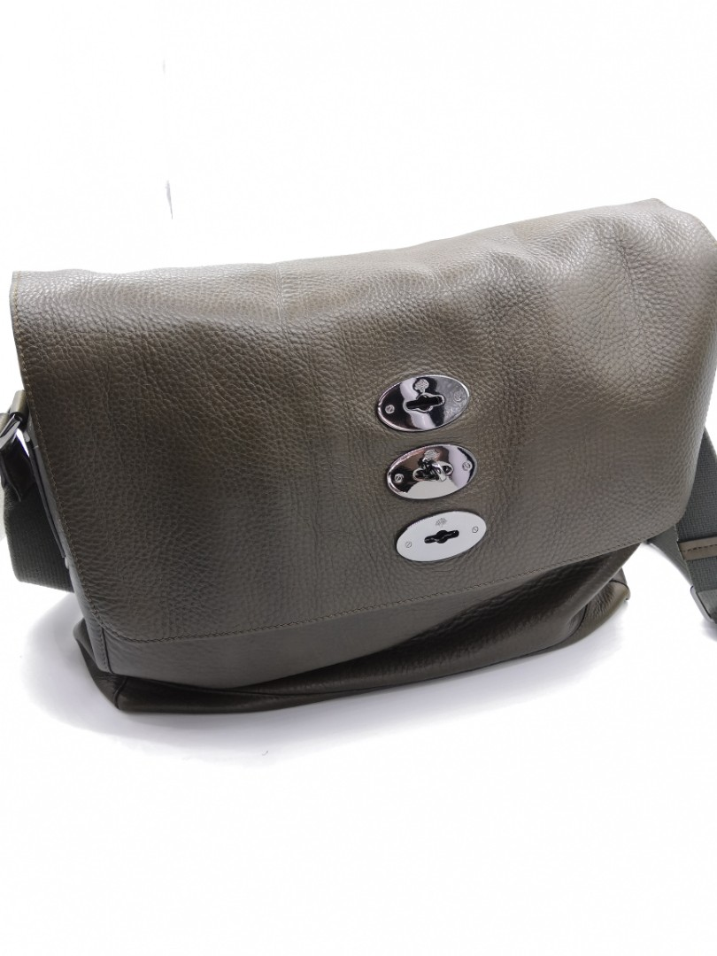 c8bb501684 Mens Messenger Sling Bag Leather Mulberry Branded Luxury