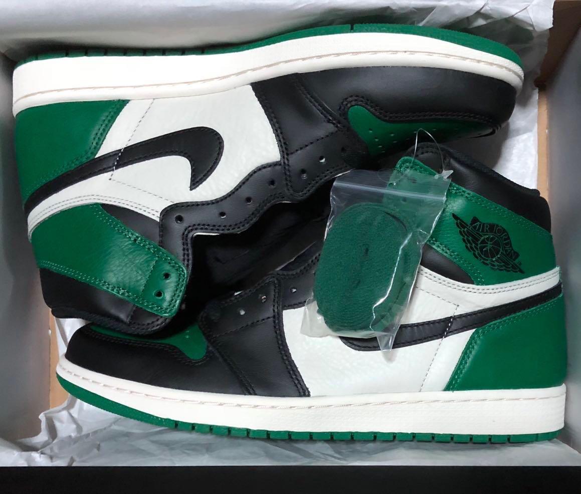 Nike Air Jordan 1 Pine Green Retro High OG US11 72004975e