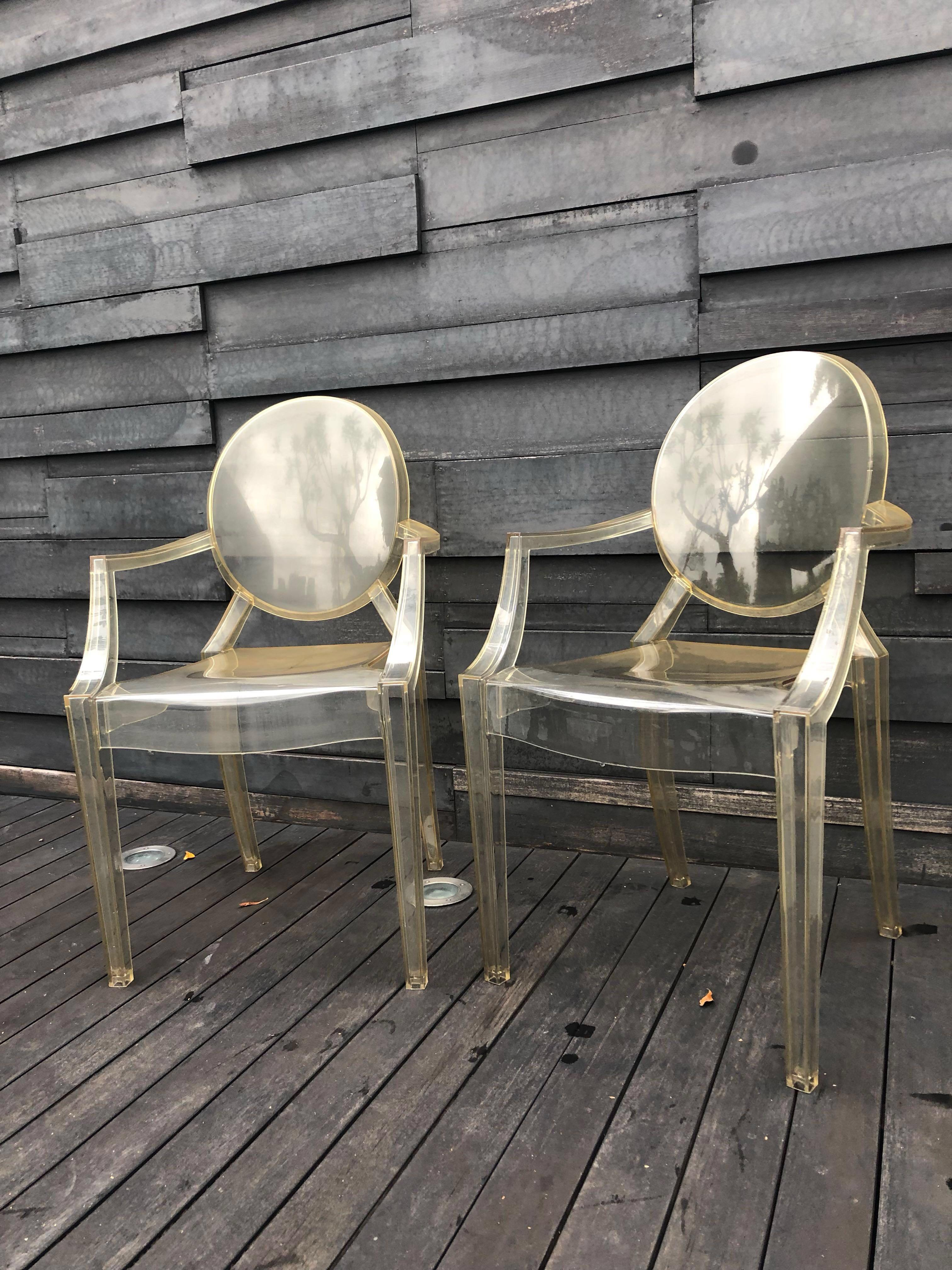 Outdoor Iconic Kartell Ghost Chair By