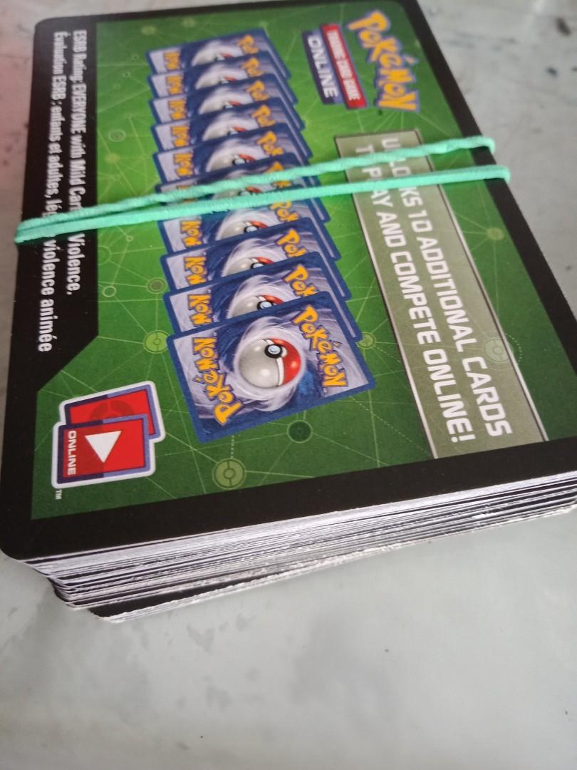 MESSAGE DELIVERY POKEMON TEAM UP CODE CARDS X36 PTCGO ONLINE UNUSED