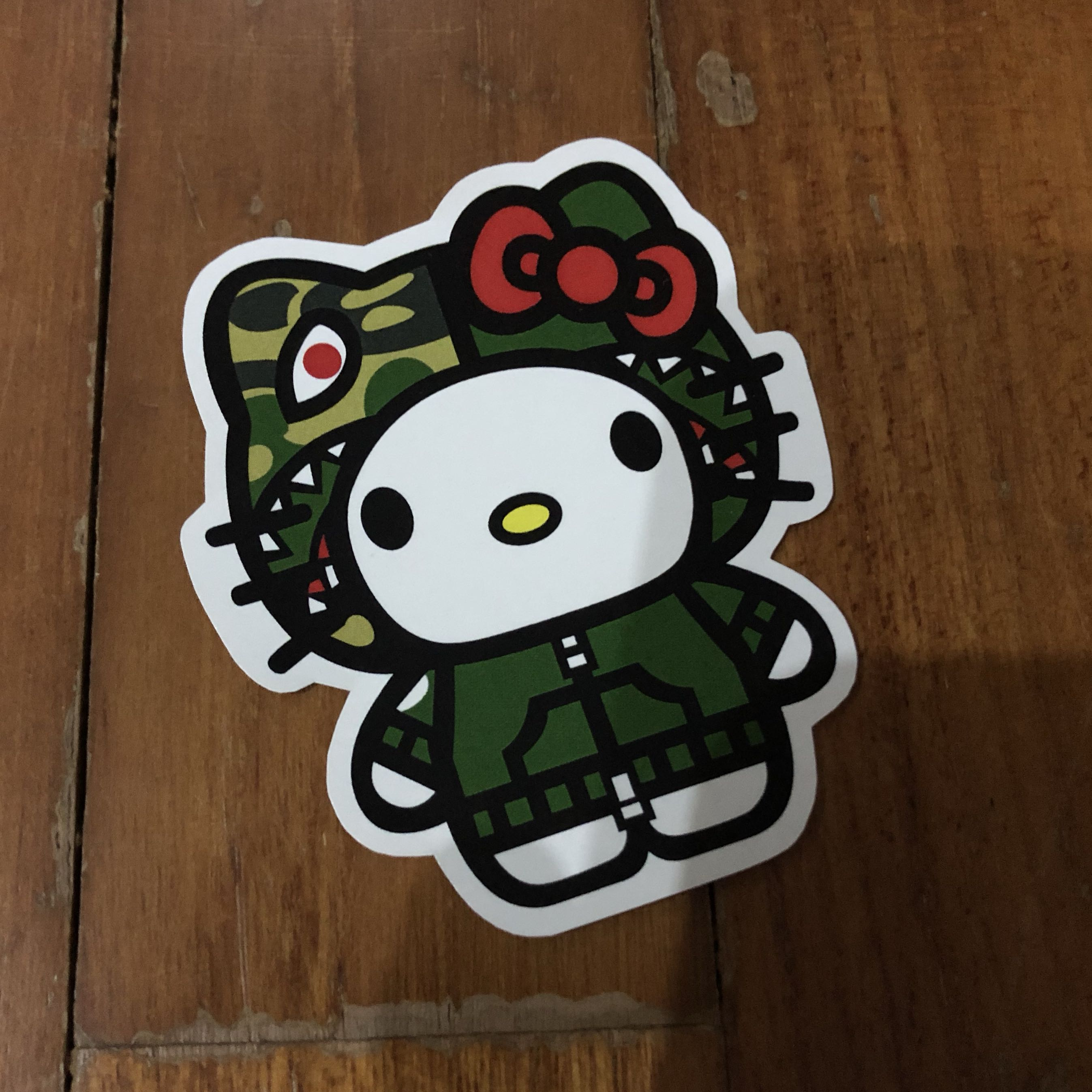 3428ec85b2 Pop Culture Luggage Laptop Misc Sticker Bape Bathing Ape Sanrio ...