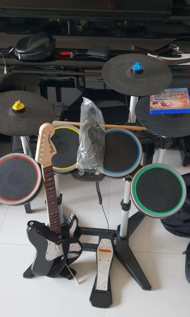 Ps4 rock band 4 full set, Toys & Games, Video Gaming, Video
