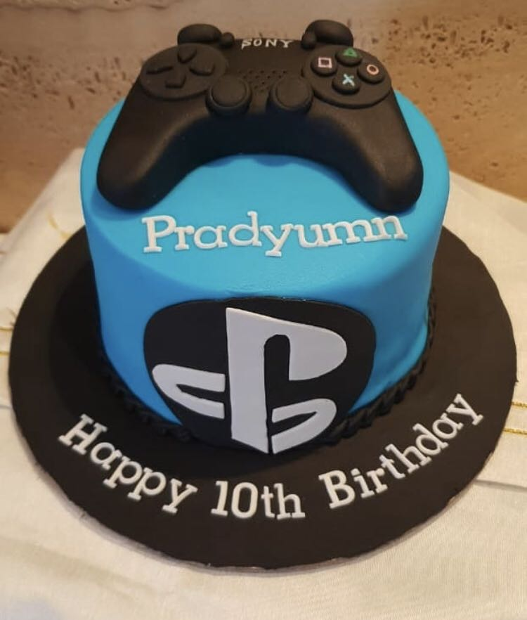 PS Gaming Birthday Cake Food Drinks Baked Goods On Carousell