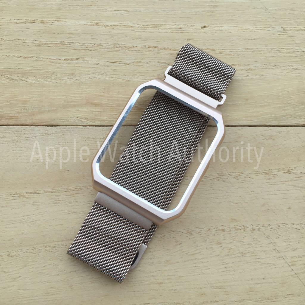 Replacement Strap with rim for Apple Watch iwatch
