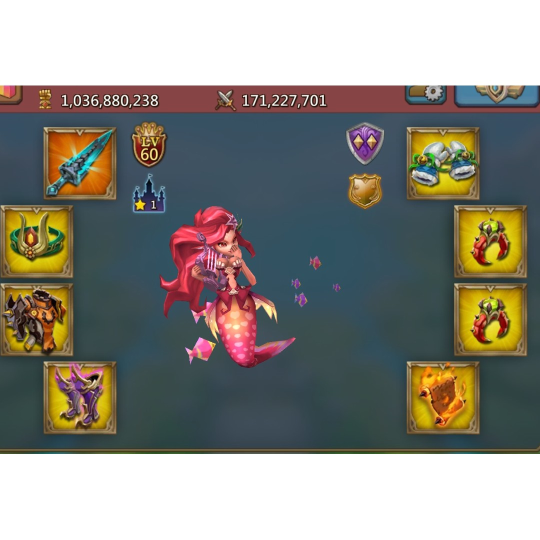 Selling Lords Mobile 1B Might Account, Toys & Games, Video