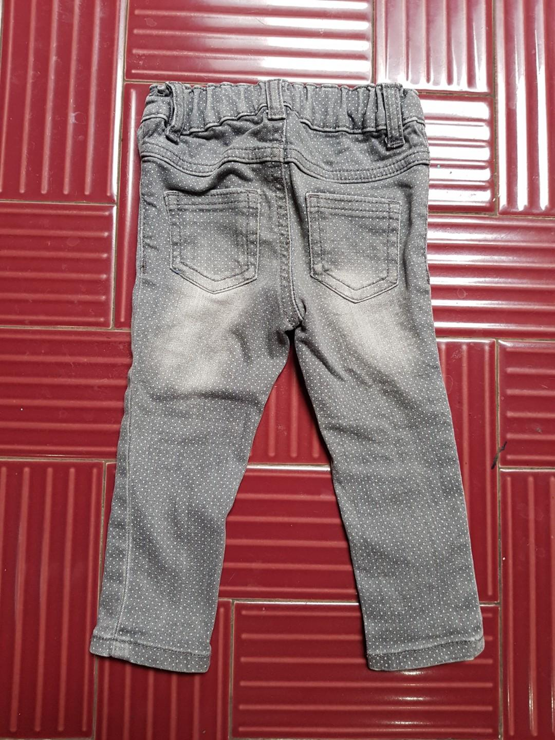 Skinny jeans mothercare size 12-18bln
