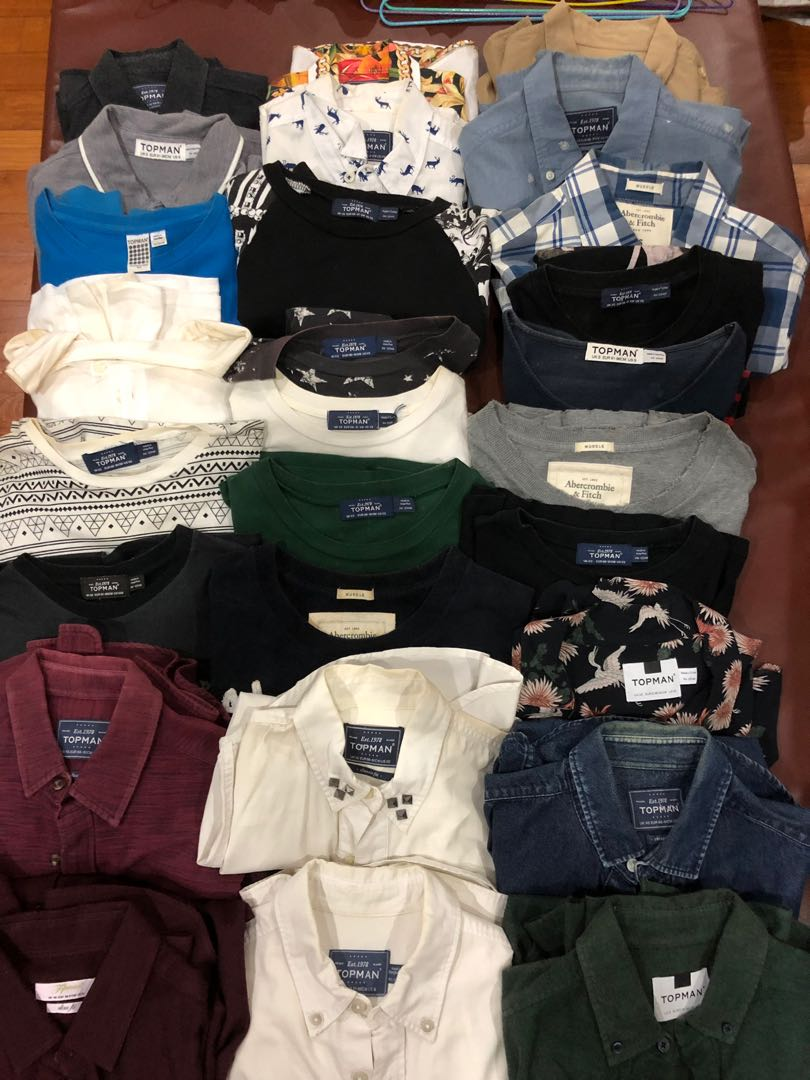 7d8463ca171d8 Topman   Abercrombie and Fitch Tops