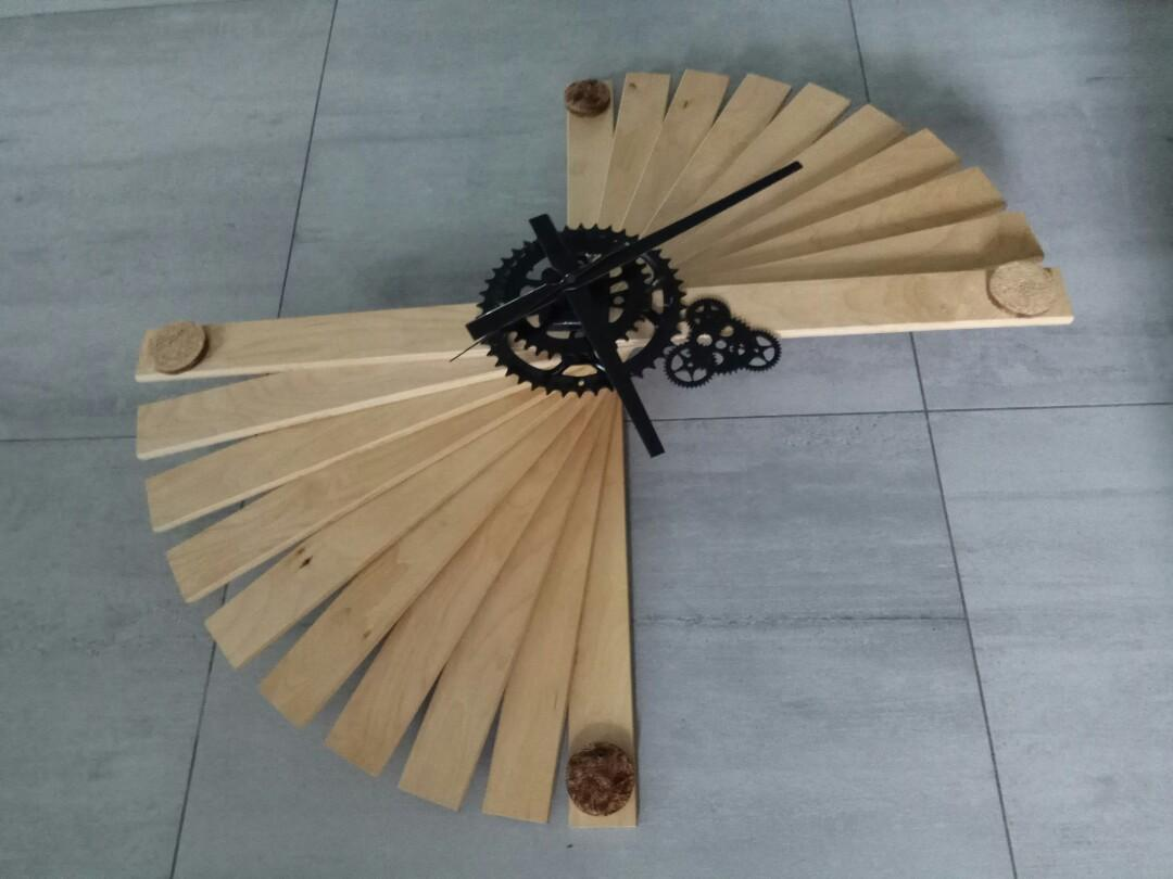 Upcycle large clock (75cm dia)