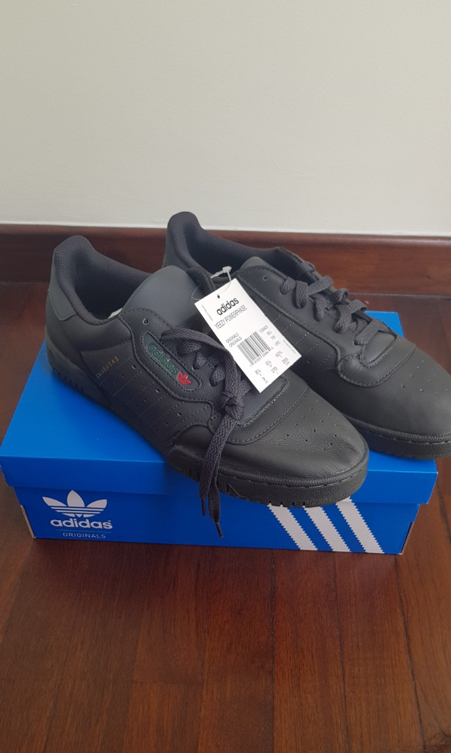 the best attitude 76eb1 e7a13 US 9 Adidas Yeezy Powerphase Calabasas Core Black, Men s Fashion, Footwear,  Sneakers on Carousell