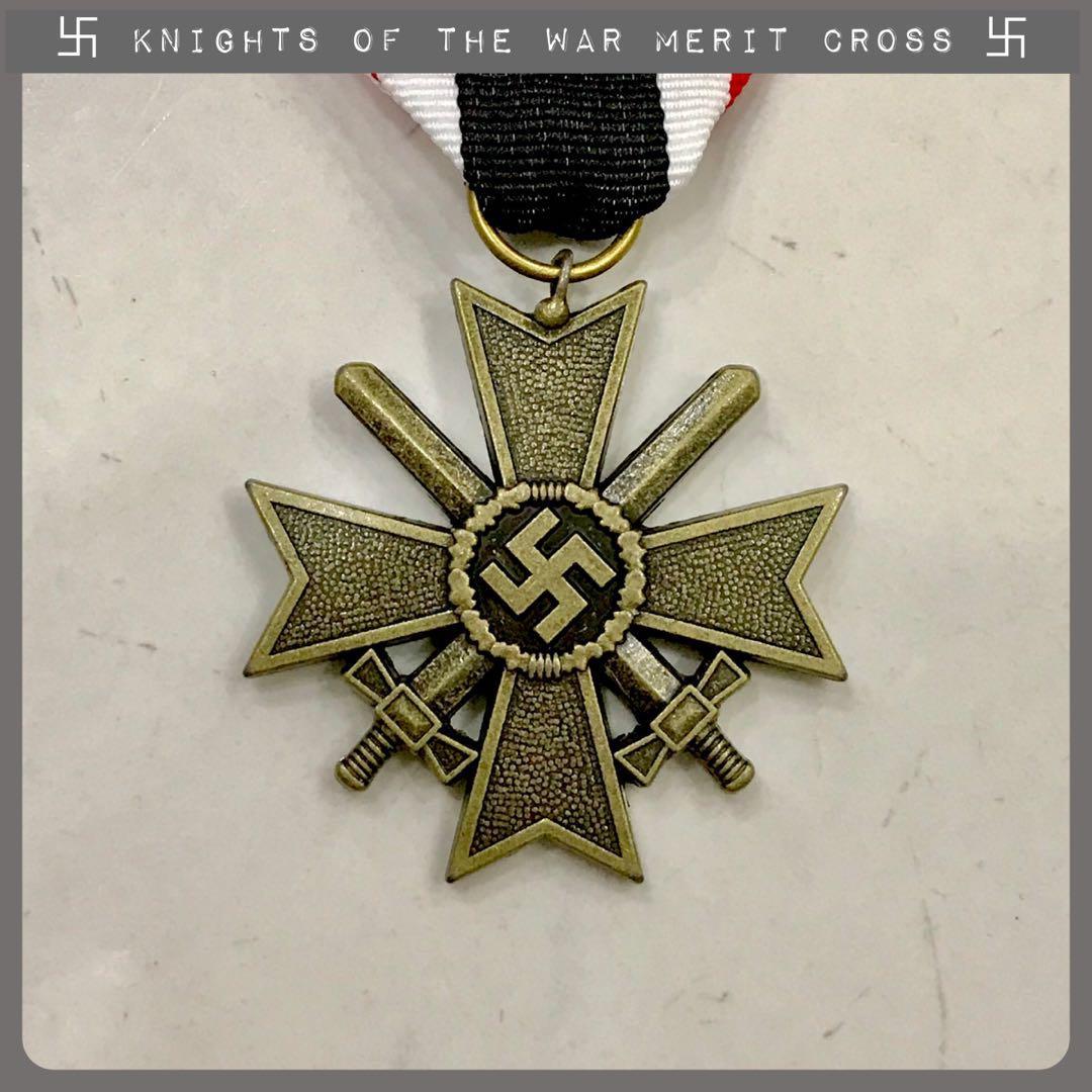 e23192018ada3 World War Two Nazi Knights Cross of War Merit Cross German Army ...
