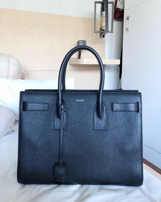 36bdad9043a YSL Saint Laurent Sac de Jour Grained Leather, Luxury, Bags ...